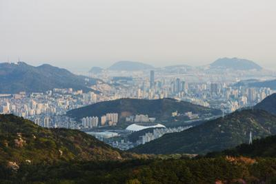 City Skyline, Busan, South Korea, Asia by Christian Kober