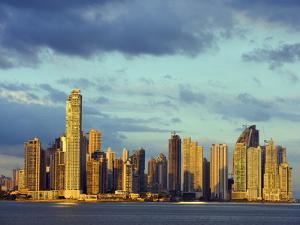 City Skyline, Panama City, Panama, Central America by Christian Kober