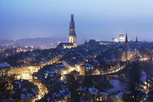 City View, Bern, Switzerland, Europe by Christian Kober