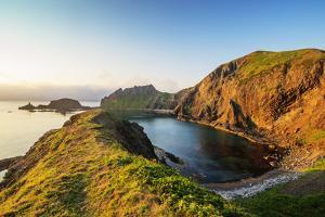 Coastal scenery, Rebun island, Hokkaido, Japan by Christian Kober