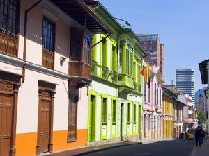 Colourful Houses, Bogota, Colombia, South America by Christian Kober