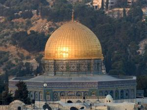 Dome of the Rock, Haram Ash-Sharif (Temple Mount), Old Walled City, Jerusalem by Christian Kober