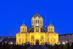Eurasia, Caucasus Region, Armenia, Yerevan, St Gregory Cathedral by Christian Kober