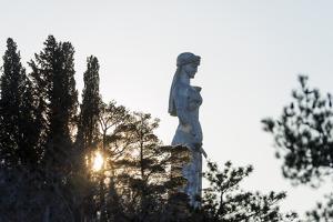 Eurasia, Caucasus Region, Georgia, Tbilisi, Mother Kartli Statue by Christian Kober