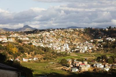 Fianarantsoa, central area, Madagascar, Africa by Christian Kober