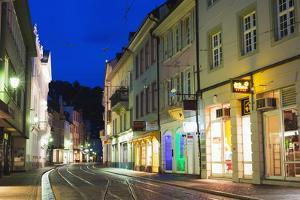 Freiburg, Baden-Wurttemberg, Germany, Europe by Christian Kober