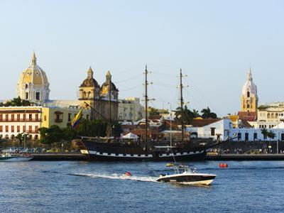 Harbour Area, Old Town, UNESCO World Heritage Site, Cartagena, Colombia, South America by Christian Kober