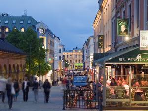Karl Johans Gate, Pedestrianised Street in the City Center, Oslo, Norway, Scandinavia, Europe by Christian Kober