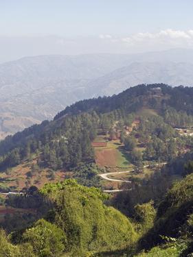 Kenscoff Mountains Near Port Au Prince, Haiti, West Indies, Caribbean, Central America by Christian Kober