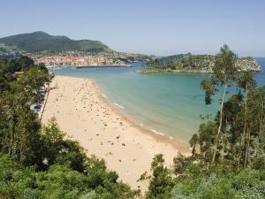 Lekeitio Beach, Euskadi (Basque Country) (Pais Vasco), Spain, Europe by Christian Kober