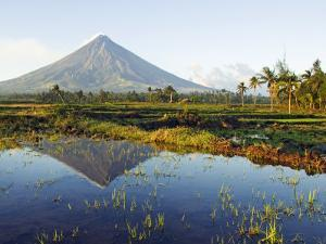 Luzon Island, Bicol Province, Mount Mayon, Near Perfect Volcano Cone, Philippines by Christian Kober
