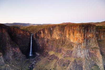 Maletsunyane Falls, Lesotho, Africa by Christian Kober