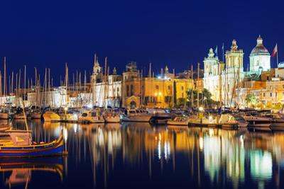 Mediterranean Europe, Malta, the Three Cities, Vittoriosa (Birgu), Grand Harbour Marina