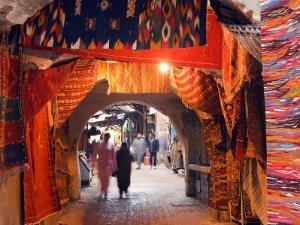 Morocco Marrakesh Medina Market at Place Djema El Fna by Christian Kober