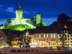 Munot Castle, 16th Century Fortress, Schaffhausen, Switzerland, Europe by Christian Kober