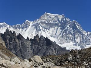 Nepal, Himalayas, Sagarmatha National Park, Solu Khumbu Everest Region, Cho Oyu (8201M) from Gokyo by Christian Kober