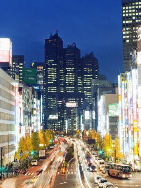 Park Hyatt Hotel and Night Lights in Shinjuku, Tokyo, Japan, Asia by Christian Kober