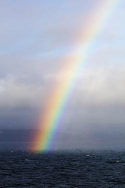Rainbow on the Sea by Christian Kober