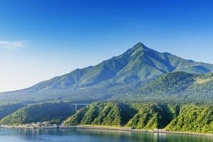 Rishiri Island, Rishiri San (mountain), Hokkaido, Japan by Christian Kober