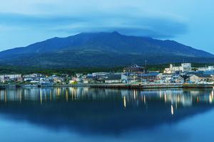 Rishiri island, Rishiri town harbour, Hokkaido, Japan by Christian Kober