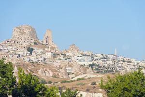 Rock-Cut Topography at Uchisar, Cappadocia, Anatolia, Turkey, Asia Minor by Christian Kober