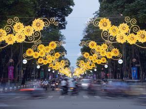 Rush Hour Traffic, Ho Chi Minh City (Saigon), Vietnam, Indochina, Southeast Asia, Asia by Christian Kober