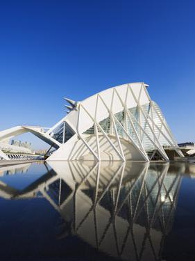 Science Museum, Architect Santiago Calatrava, City of Arts and Sciences, Valencia, Spain, Europe by Christian Kober