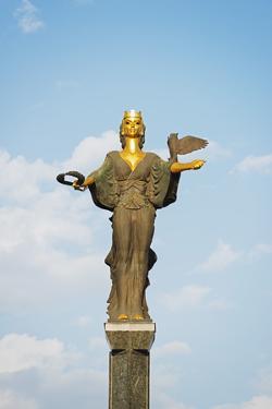 Sofia Monument, Sofia, Bulgaria, Europe by Christian Kober