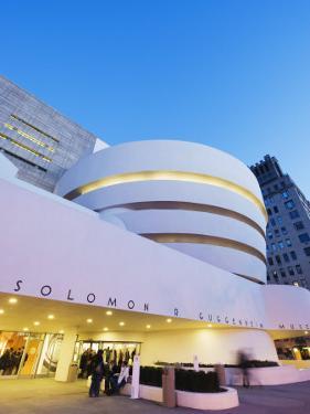 Solomon R. Guggenheim Museum, Built in 1959, Designed by Frank Lloyd Wright, Manhattan by Christian Kober