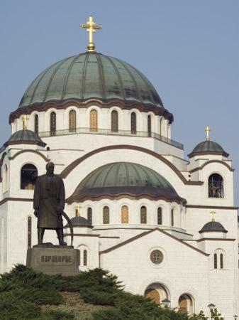 St. Sava Orthodox Church Dating from 1935, Serbia, Europe