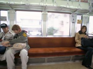 Subway, Tokyo, Japan by Christian Kober