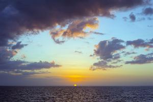 Sugar Beach Sunset, Bantayan Island, Cebu, the Visayas, Philippines, Southeast Asia, Asia by Christian Kober
