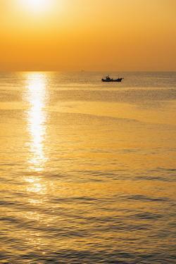 Sunrise in Kagoshima Bay, Kagoshima, Kyushu, Japan, Asia by Christian Kober