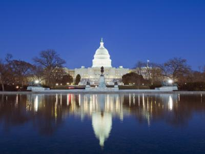 The Capitol Building, Capitol Hill, Washington D.C., United States of America, North America by Christian Kober