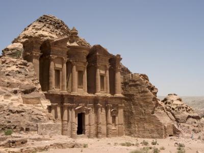 The Monastery, Petra, Unesco World Heritage Site, Wadi Musa (Mousa), Jordan, Middle East