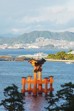 Torii Gate of Itsukushima Jinja Shinto Shrine, Miyajima Island, Hiroshima Prefecture by Christian Kober