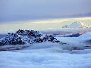 View From Volcan Cotopaxi, 5897M, the Highest Active Volcano in the World, Ecuador, South America by Christian Kober