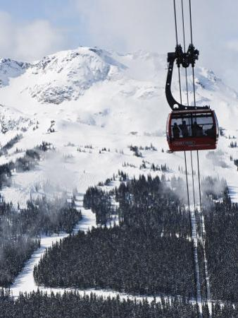 Whistler Blackcomb Peak 2 Peak Gondola, Whistler Mountain, 2010 Winter Olympic Games Venue