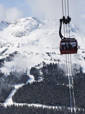 Whistler Blackcomb Peak 2 Peak Gondola, Whistler Mountain, 2010 Winter Olympic Games Venue by Christian Kober