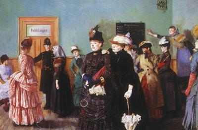 Albertine at the Police Doctor's Waiting Room, 1886-87