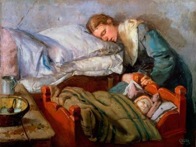 Sleeping Mother, 1883