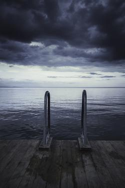 Moody Jetty by Christian Lindsten