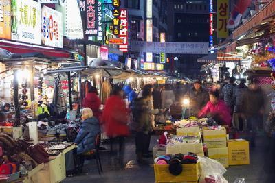 Nandaemun Market, Seoul, South Korea, Asia