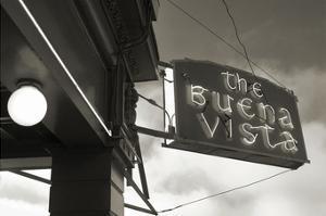 Buena Vista Sign #1 by Christian Peacock