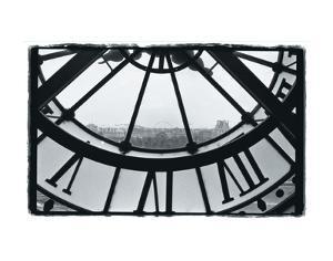 Clockface at the Musee d'Orsay by Christian Peacock
