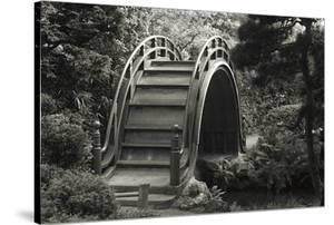 Moon Bridge in Tea Garden by Christian Peacock