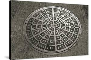 San Francisco Manhole Cover by Christian Peacock