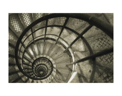 Spiral Staircase in Arc de Triomphe