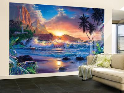 Affordable Beach Landscapes Wall Murals Posters for sale at