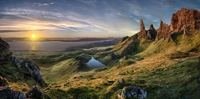 The old man of Storr by Christian Schweiger